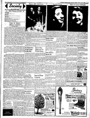 Northwest Arkansas Times from Fayetteville, Arkansas on April 5, 1952 · Page 3