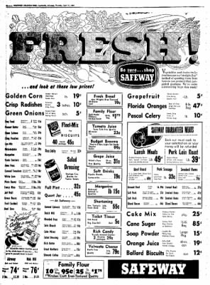 Northwest Arkansas Times from Fayetteville, Arkansas on April 17, 1952 · Page 8