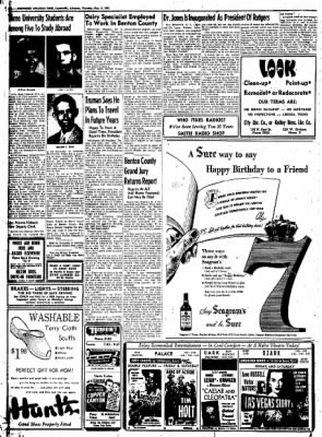 Northwest Arkansas Times from Fayetteville, Arkansas on May 8, 1952 · Page 20