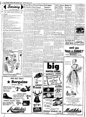 Northwest Arkansas Times from Fayetteville, Arkansas on May 14, 1952 · Page 2