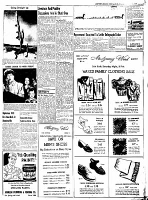 Northwest Arkansas Times from Fayetteville, Arkansas on May 23, 1952 · Page 3