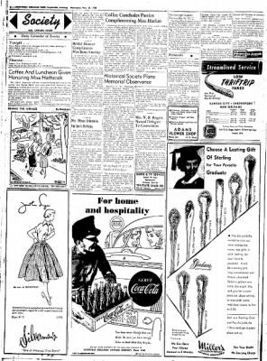 Northwest Arkansas Times from Fayetteville, Arkansas on May 28, 1952 · Page 2