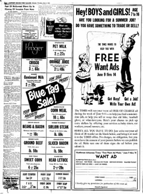 Northwest Arkansas Times from Fayetteville, Arkansas on June 5, 1952 · Page 10
