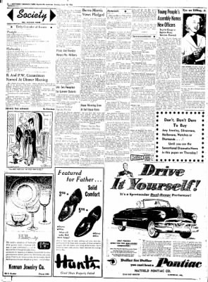 Northwest Arkansas Times from Fayetteville, Arkansas on June 10, 1952 · Page 2