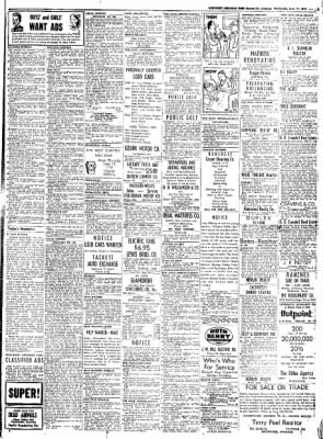 Northwest Arkansas Times from Fayetteville, Arkansas on June 11, 1952 · Page 9