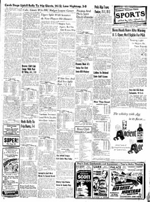 Northwest Arkansas Times from Fayetteville, Arkansas on June 16, 1952 · Page 7