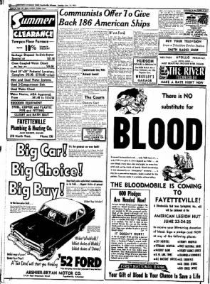 Northwest Arkansas Times from Fayetteville, Arkansas on June 17, 1952 · Page 12