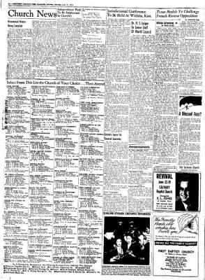 Northwest Arkansas Times from Fayetteville, Arkansas on June 21, 1952 · Page 2