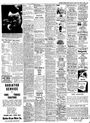 Northwest Arkansas Times from Fayetteville, Arkansas on August 15, 1952 · Page 7