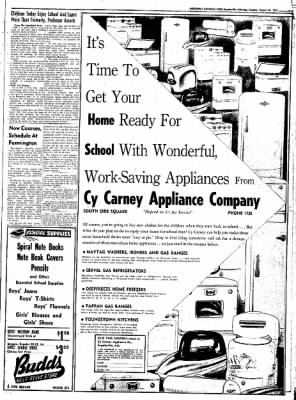 Northwest Arkansas Times from Fayetteville, Arkansas on August 26, 1952 · Page 21
