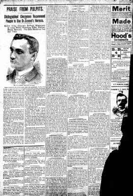 Logansport Pharos-Tribune from Logansport, Indiana on October 3, 1896 · Page 2