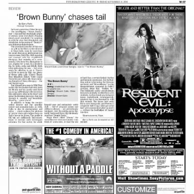 Pittsburgh Post-Gazette from Pittsburgh, Pennsylvania on September 10, 2004 · Page 79