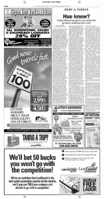 Pittsburgh Post-Gazette from Pittsburgh, Pennsylvania on September 19, 2004 · Page 160
