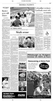 Pittsburgh Post-Gazette from Pittsburgh, Pennsylvania on October 20, 2004 · Page 41