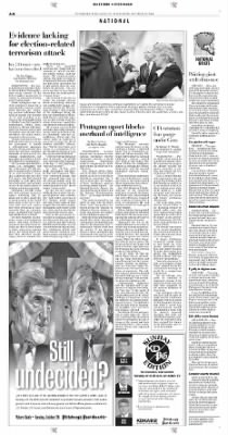 Pittsburgh Post-Gazette from Pittsburgh, Pennsylvania on October 23, 2004 · Page 8