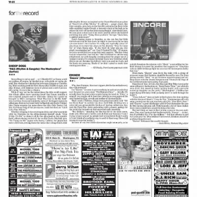 Pittsburgh Post-Gazette from Pittsburgh, Pennsylvania on November 19, 2004 · Page 93
